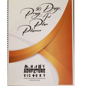 90 Day Pray and Plan Planner